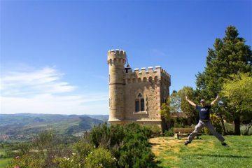 Francia Rennes-le-Château Berenger Sauniere Torre Magdala Salto