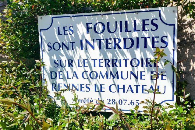Francia Rennes-le-Château Prohibicion