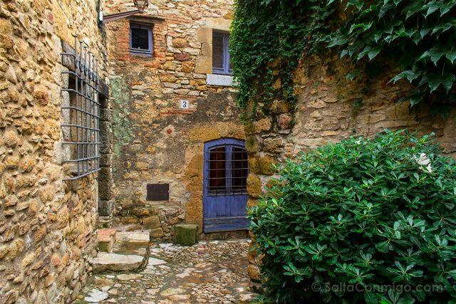 Girona Peratallada Calle