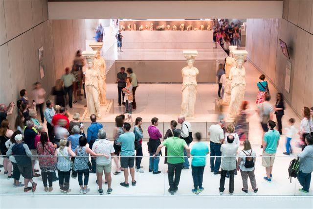 Grecia Atenas Museo Acropolis Cariatides