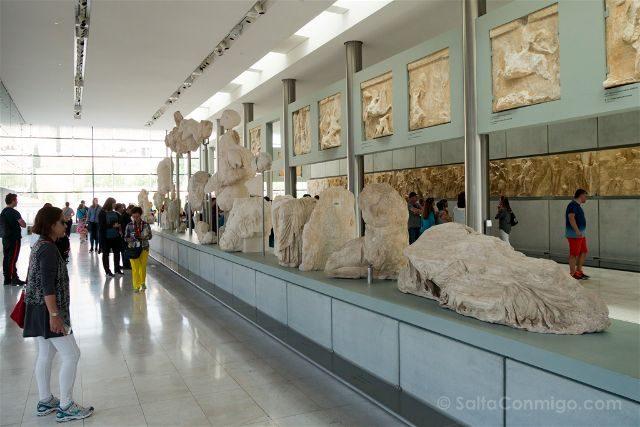 Grecia Atenas Museo Acropolis Frisos Partenon