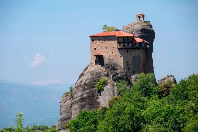 Grecia Meteora Monasterio San Nicolas