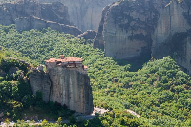Grecia Meteora Monasterio Roussanou