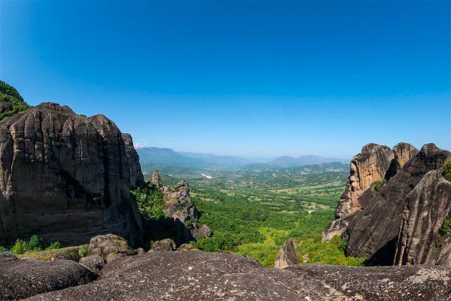 Grecia Meteora Rocas Hikking