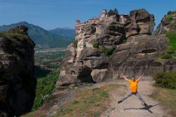 Grecia Meteora Salto Monasterio Varlaam