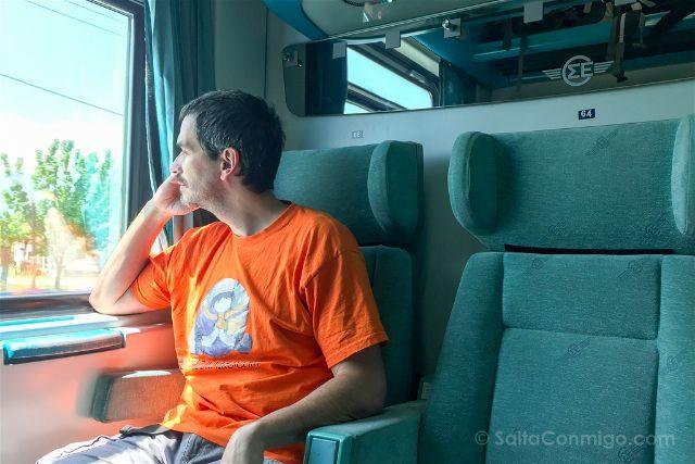 Grecia Meteora Tren