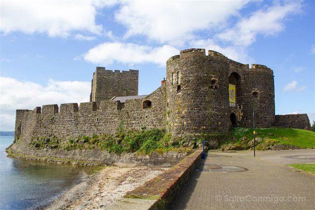Irlanda Del Norte Carrickfergus Castel