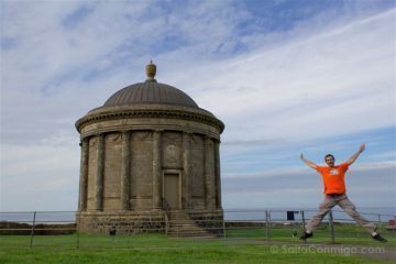 Irlanda Del Norte Mussenden Temple Salto