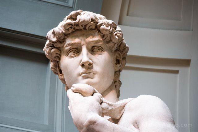Italia Florencia Accademia David Detalle