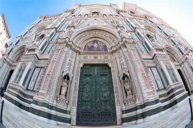 Italia Florencia Catedral Fachada
