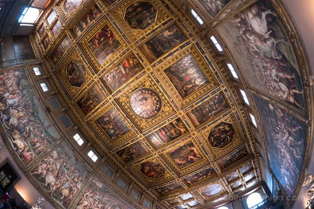 Italia Florencia Palazzo Vecchio Sala 500
