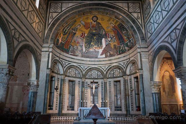 Italia Florencia San Miniato Monte Interior