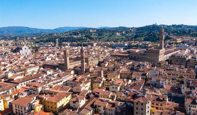 Italia Florencia Vista Campanile