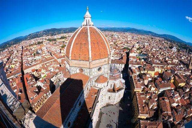 Italia Florencia Vista CatedralCampanile