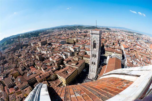 Italia Florencia Vista Catedral Cupula