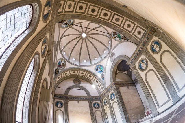 Italia Toscana Florencia Santa Croce Cappella Pazzi