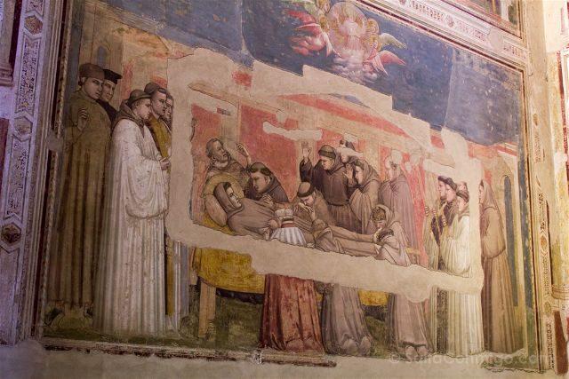 Italia Toscana Florencia Santa Croce Giotto