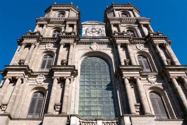 Francia Bretagne Rennes Catedral Saint Pierre Fachada