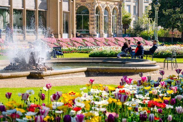Francia Bretagne Rennes Parc Thabor Relax