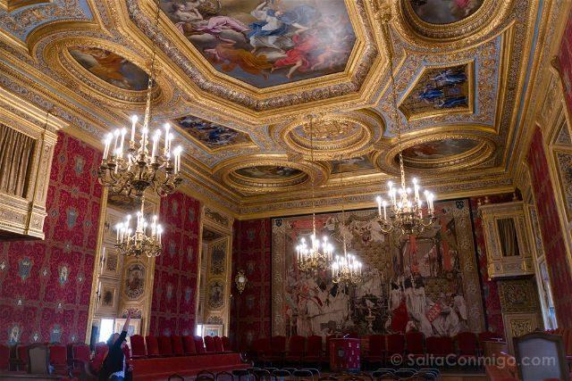 Francia Bretagne Rennes Parlamento Bretana Grand Chambre