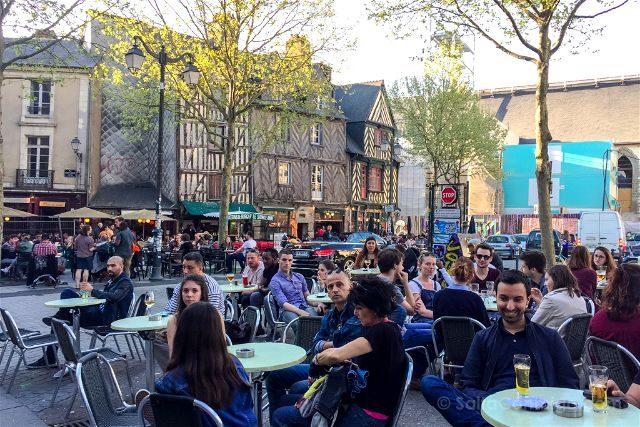 Francia Bretagne Rennes Plaza Saint-Michel