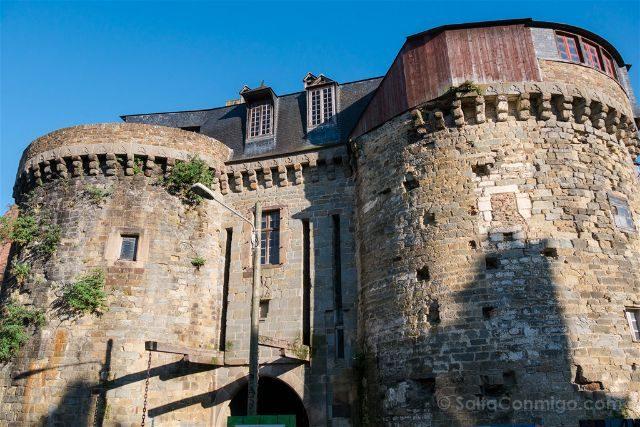 Francia Bretagne Rennes Puertas Mordelaises