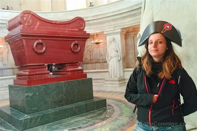 Francia Paris Invalides Tumba Napoleon Sara