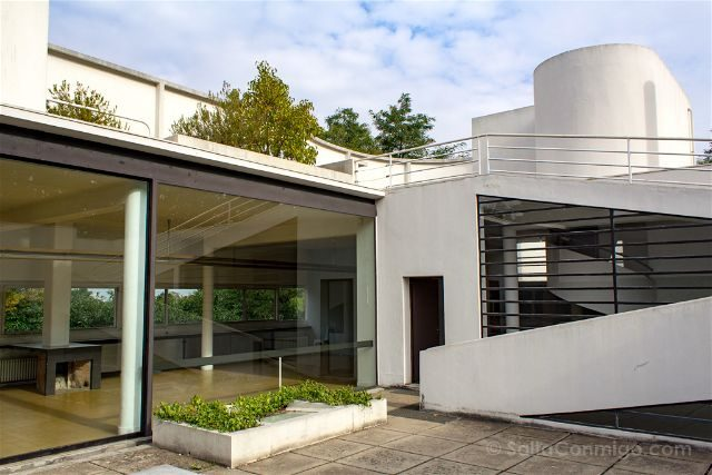Francia Paris Poissy Ville Savoye Le Corbusier
