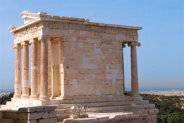 Grecia Atenas Acropolis Templo Atenea Nike