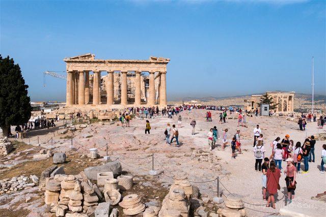 Grecia Atenas Acropolis Vista General