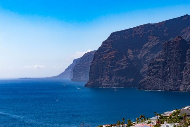 Islas Canarias Tenerife Acantilados Gigantes