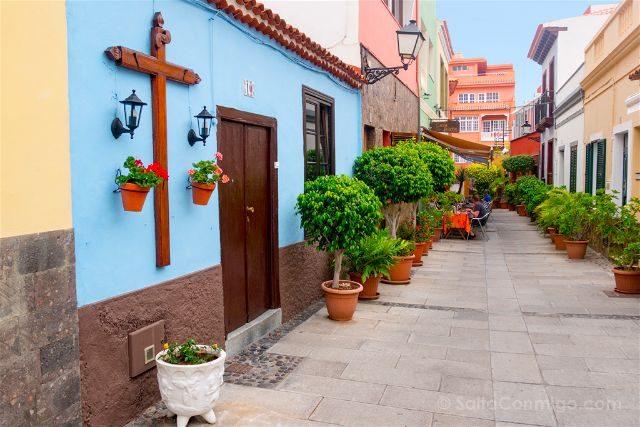 Islas Canarias Tenerife Puerto De La Cruz Street Art Calle