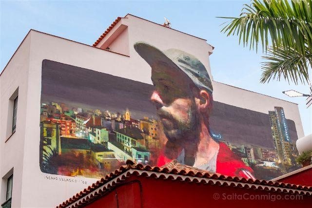 Islas Canarias Tenerife Puerto De La Cruz Street Art La rebelion de los sonadores Sebas Velasco