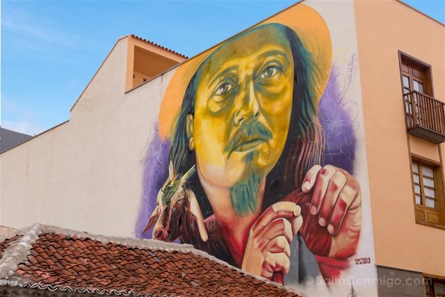 Islas Canarias Tenerife Puerto De La Cruz Street Art Ritual Sabotaje al Montaje