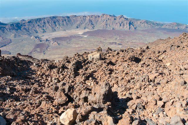 Islas Canarias Tenerife Teide Caldera