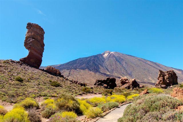 Islas Canarias Tenerife Teide Roque Cinchado