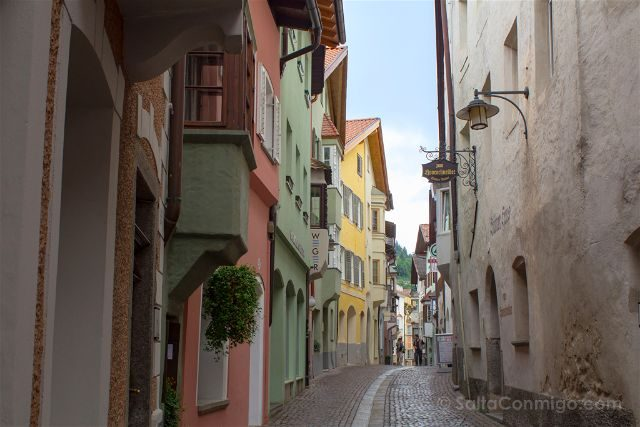 Italia Alto Adige Sudtirol Chiusa Klausen Calle