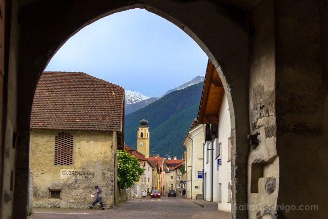 Italia Alto Adige Sudtirol Glorenza Glurns Arco