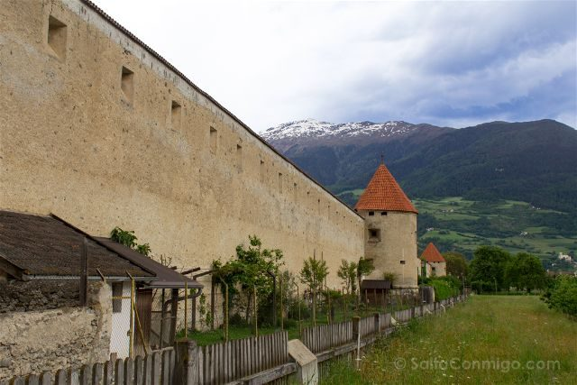 Italia Alto Adige Sudtirol Glorenza Glurns Muralla