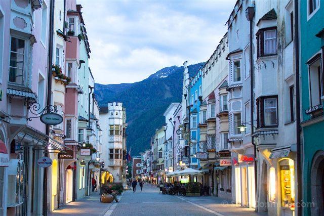 Italia Alto Adige Sudtirol Sterzing Vipiteno Calle