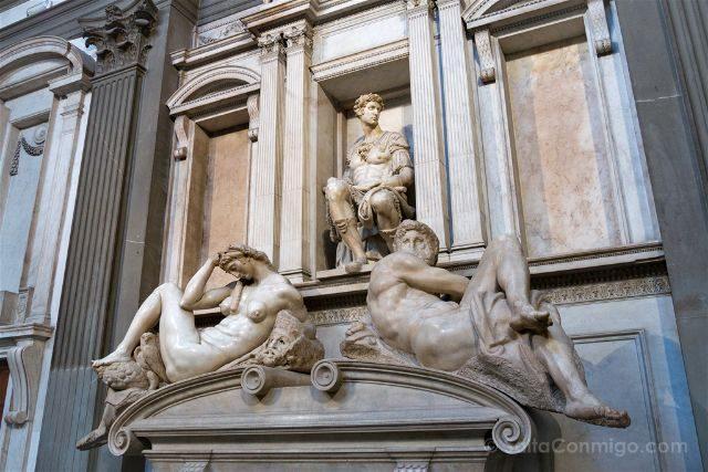 Italia Florencia Capilla Medici Miguel Angel