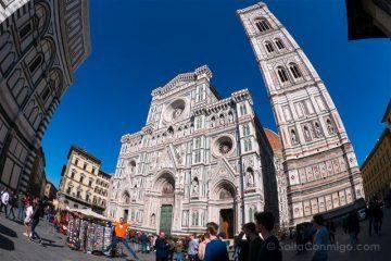 Italia Florencia Piazza Duomo Salto