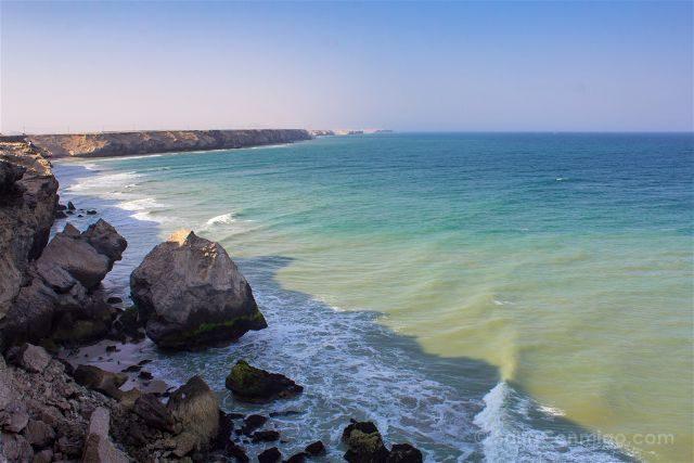 Oman Acantilados