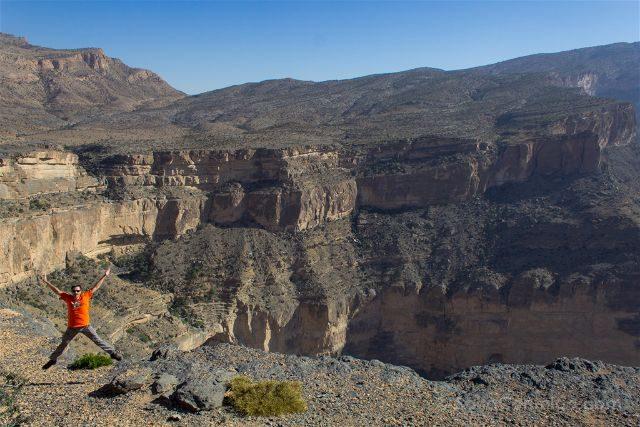Oman Wadi Snake Salto