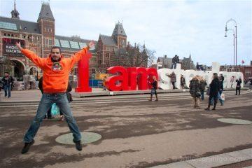 Paises Bajos Holanda Amsterdam Salto