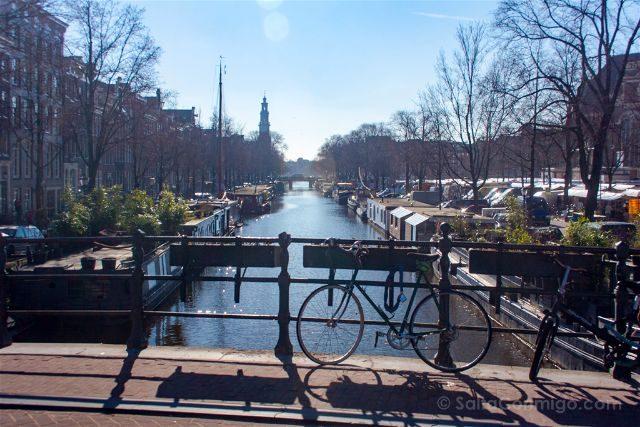 Paises Bajos Holanda Amsterdam Canales