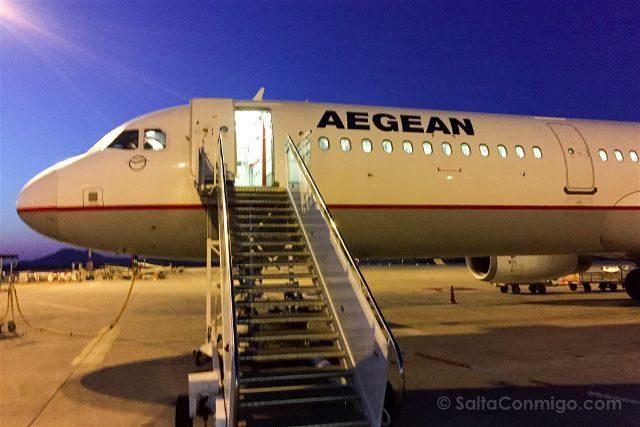 Aegean Grecia Avion