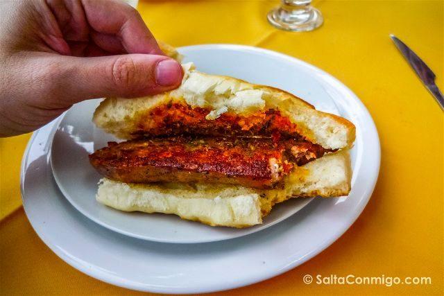 Argentina Comida Gastronomia Choripan
