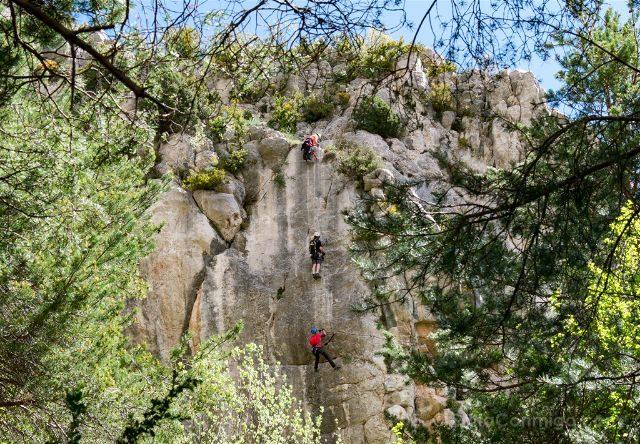 Catalunya Barcelona Bergueda Vallcebre Via Ferrata Cal Curt