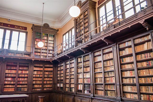 Catalunya Barcelona Vilanova i la Geltrú Biblioteca Museo Victor Balaguer